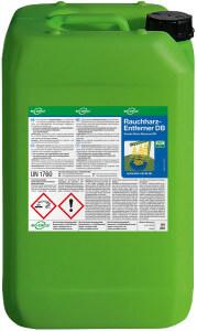 20 Liter Kanister mit Rauchharz-Entferner DB