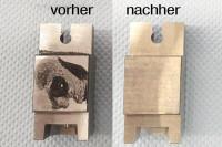 Vorher-Nachher Foto Verschmutzung
