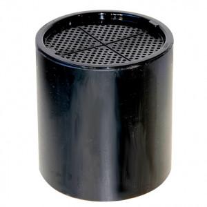 Feinfiltergehäuse schwarz