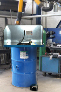 200 Liter Fass CB 100 in Werkstattt