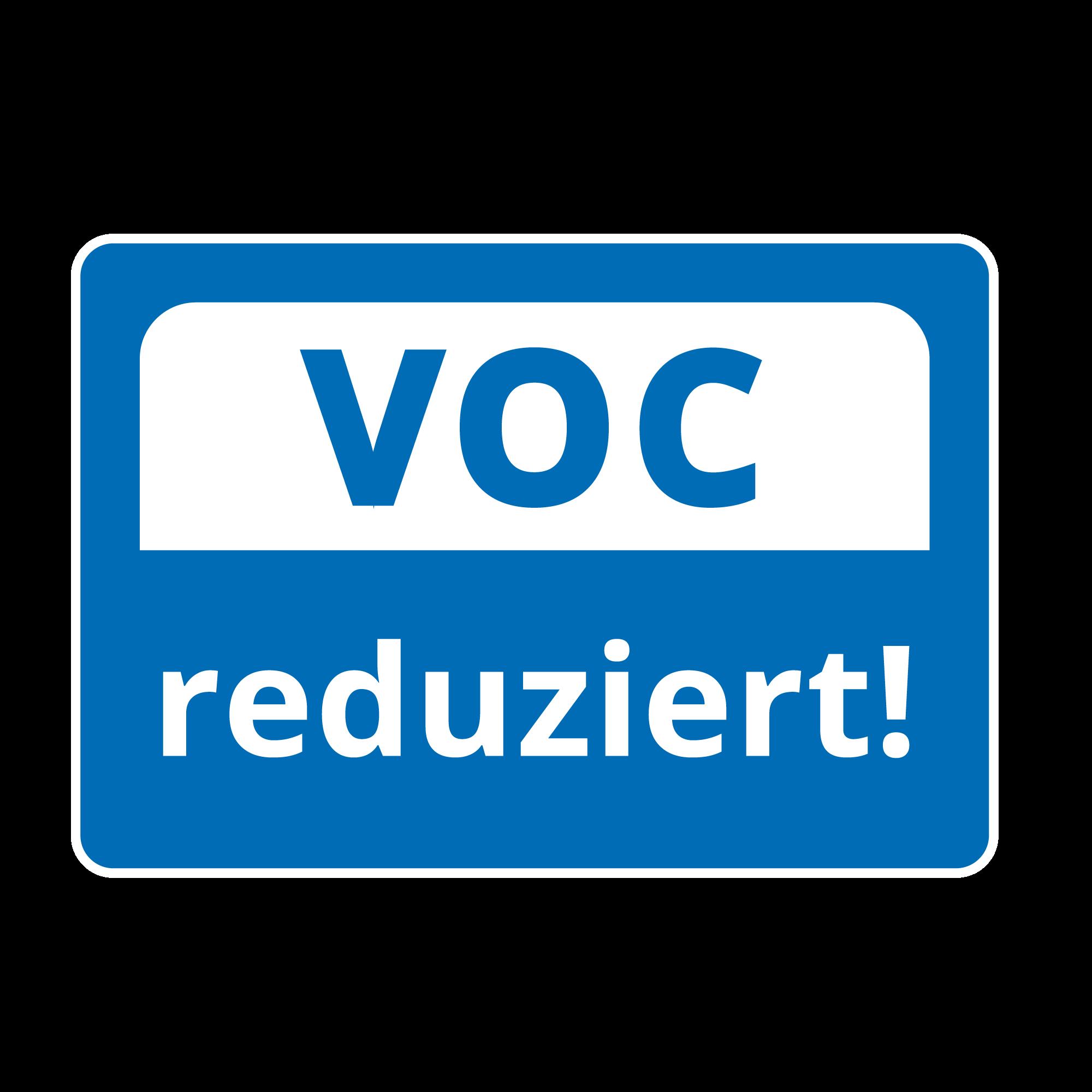 VOC reduziert!