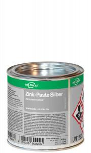 500 Gramm Weißblechdose Zink-Paste Silber
