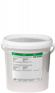 10 Liter Eimer befüllt mit Uni-Sorb