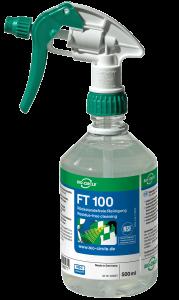 500 Milliliter Sprühflasche mit dem Reiniger FT 100