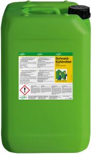 5 Liter Kanister mit Schneidkühlmittel milchig